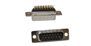 2 off 26 Way High Density D Connectors Plug HD Solder