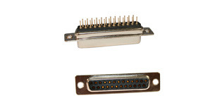 db25 connector | 171 series dip solder d-sub connector