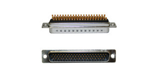 180-M Series D-Sub Connector | 62 pin male