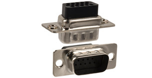 180 Series D-Sub Crimp & Load Connector