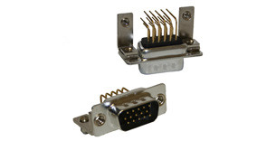 781-M Series High Density D-Sub Right Angle Connector