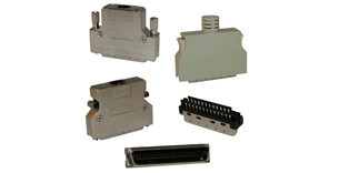 Ribbon Connector/Backshell .050"