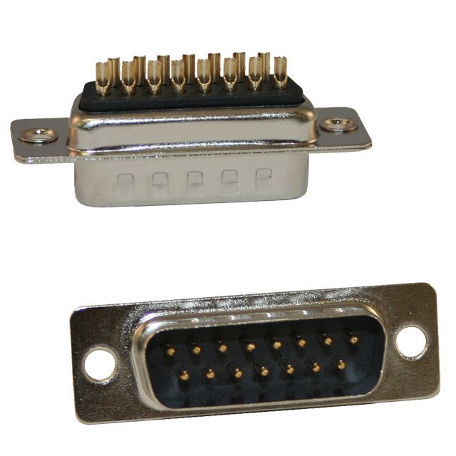 171 series solder cup d-sub connector