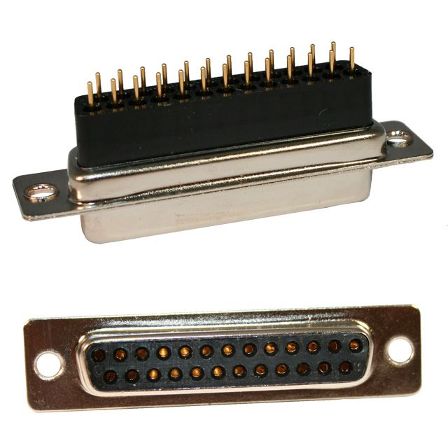 25 pin D-Sub High Rise Connector | 172 Series