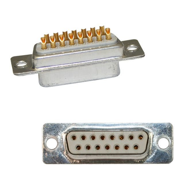 172 series solder cup d-sub connector