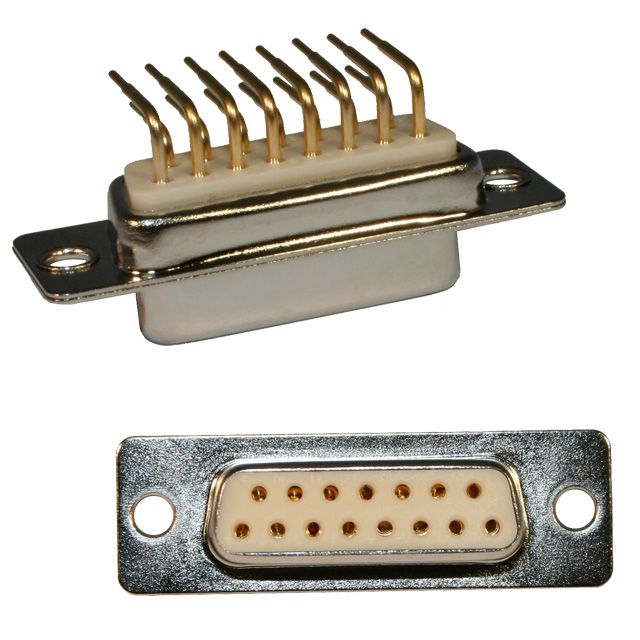 773-E Series D-Sub Right Angle Connector