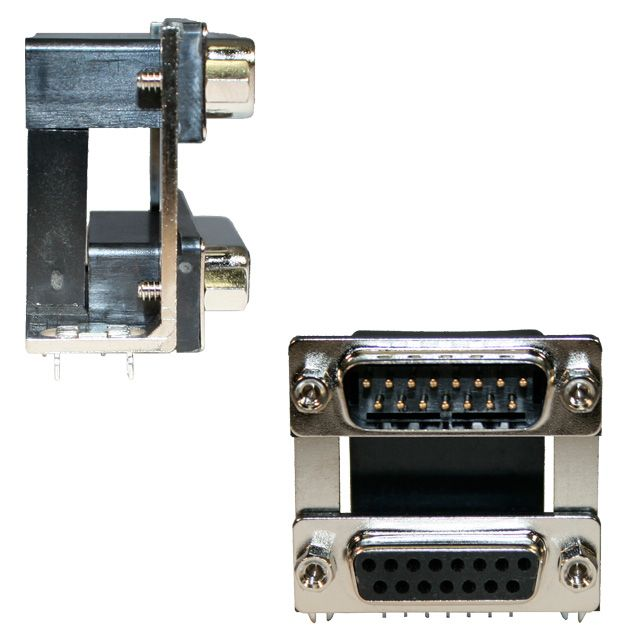 179 Series D-Sub Dual Port Connector