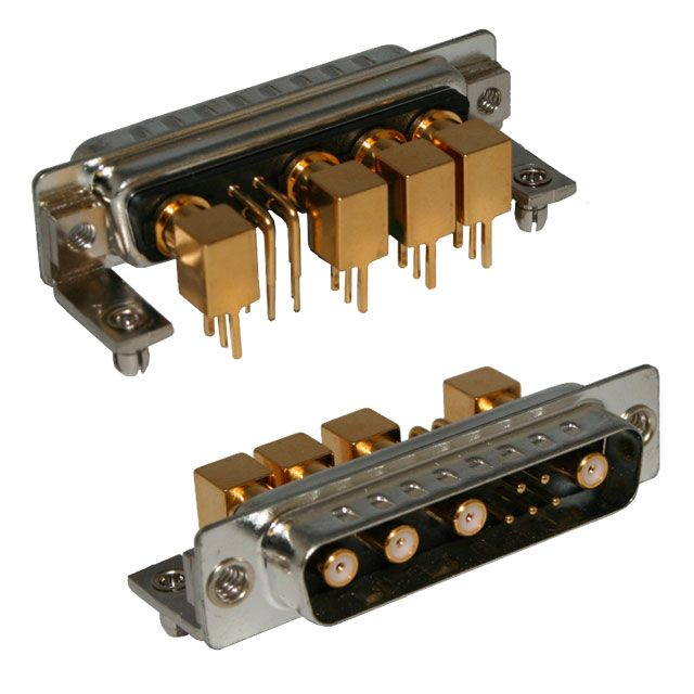 9w4 d-sub mixed layout connector