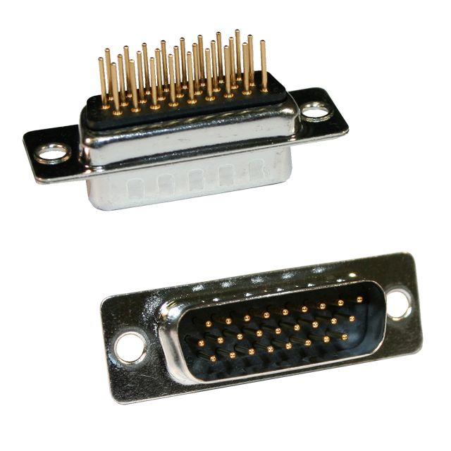 780-M Series High Density D-Sub Vertical Solder Connector