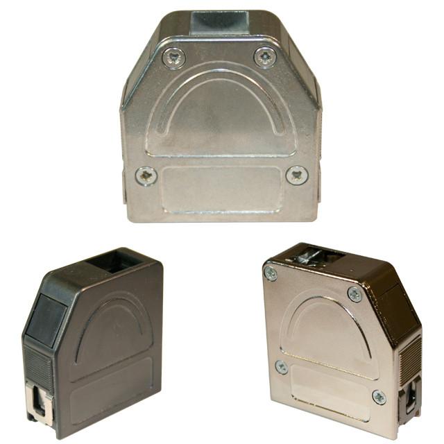 D Sub Backshell 180 176 30 176 Exit 955 Series Norcomp