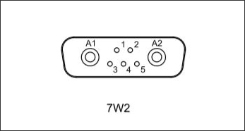 7w2 Connector | Contact Configuration