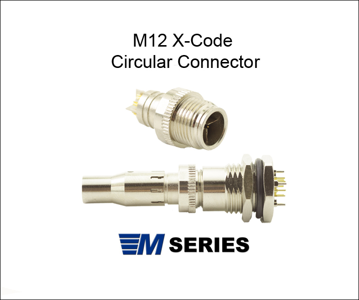 m12 x-coded connector